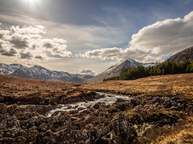 Photo of one of the amazing views from the West Highland Way