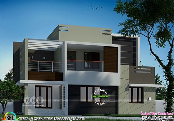 1871 square feet 4 bedroom modern house