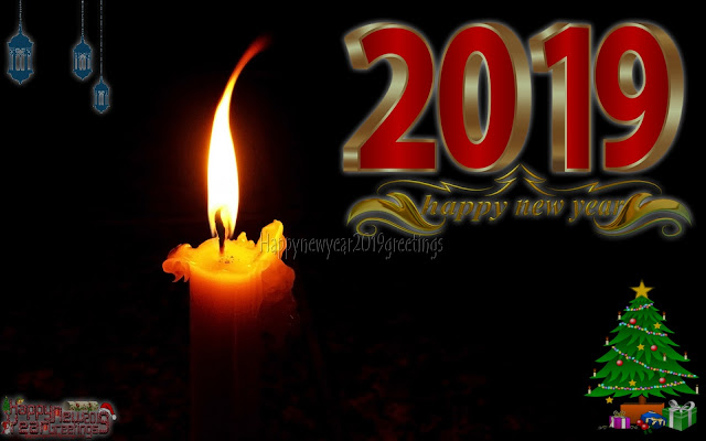 Happy New Year 2019 Colorful Greetings Download Free