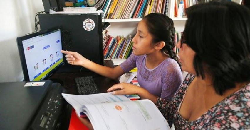 APRENDO EN CASA: DRELM brinda recomendaciones recursos prácticos para directores, docentes y familias