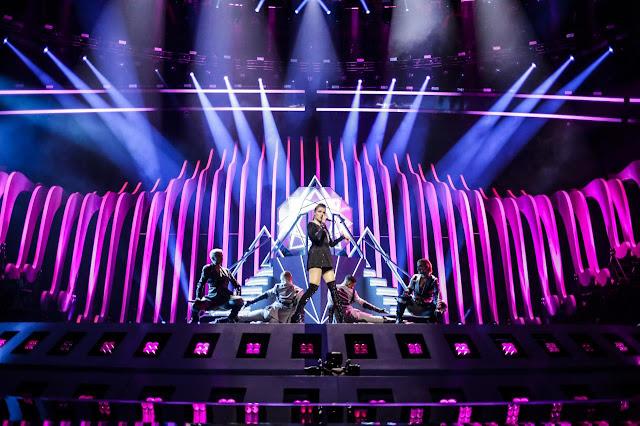 Saara Aalto en Eurovisión