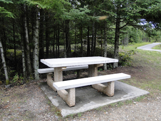 Park bench Canada