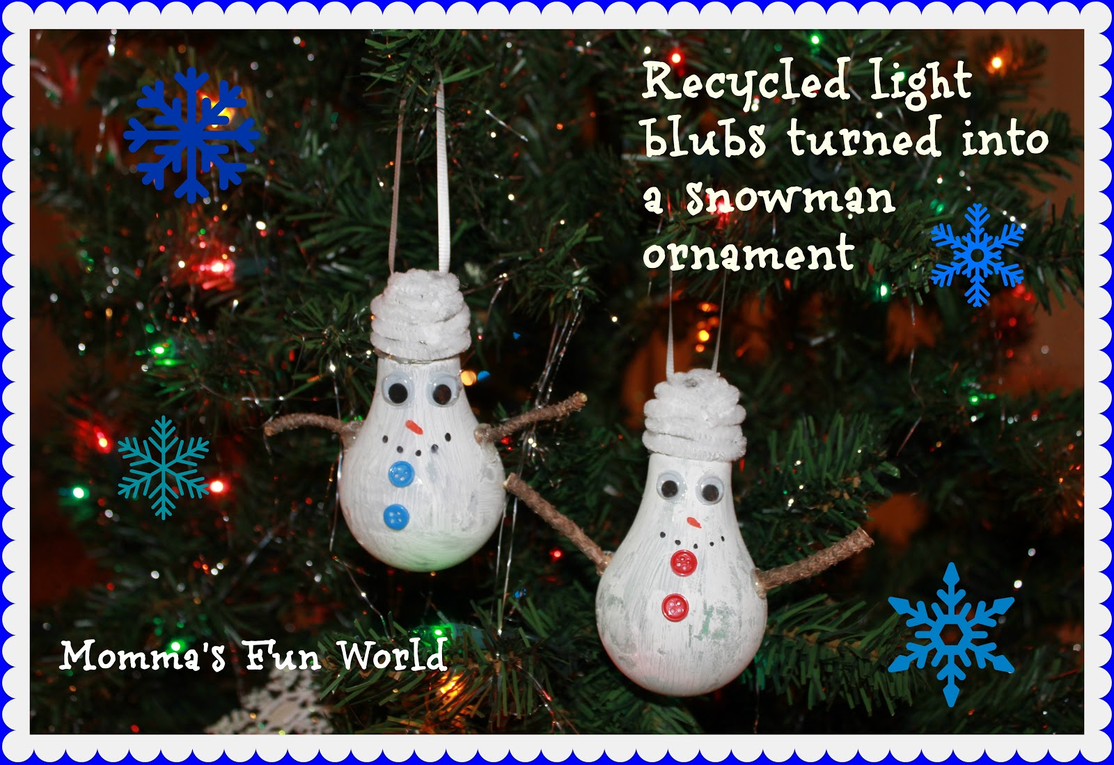 Momma S Fun World 15 Fun And Easy Christmas Ornaments