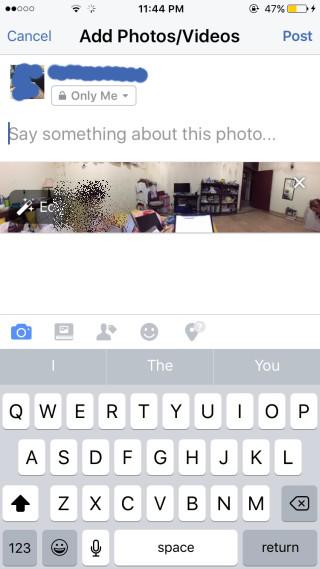 كيفية رفع صور °360 درجة على الفيسبوك