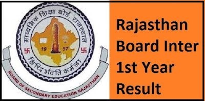 Rajasthan Board Inter 1st Year Result 2017