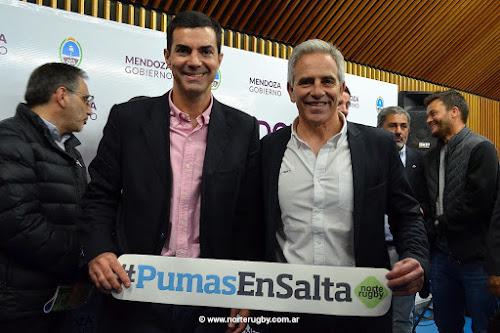 Urtubey presentó el partido de Los Pumas vs. Wallabies en Salta