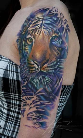 Face Sleeve Tattoo: Greatest Tattoos Designs: Animal Half Sleeve Tattoos For Women