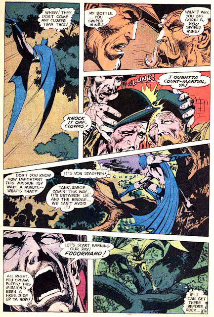 Brave and the Bold v1 #84 dc comic book page art by Neal Adams
