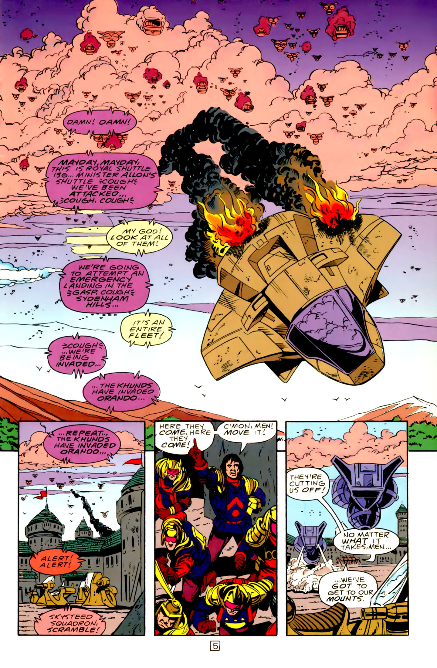 Legion of Super-Heroes (1989) 15 Page 5