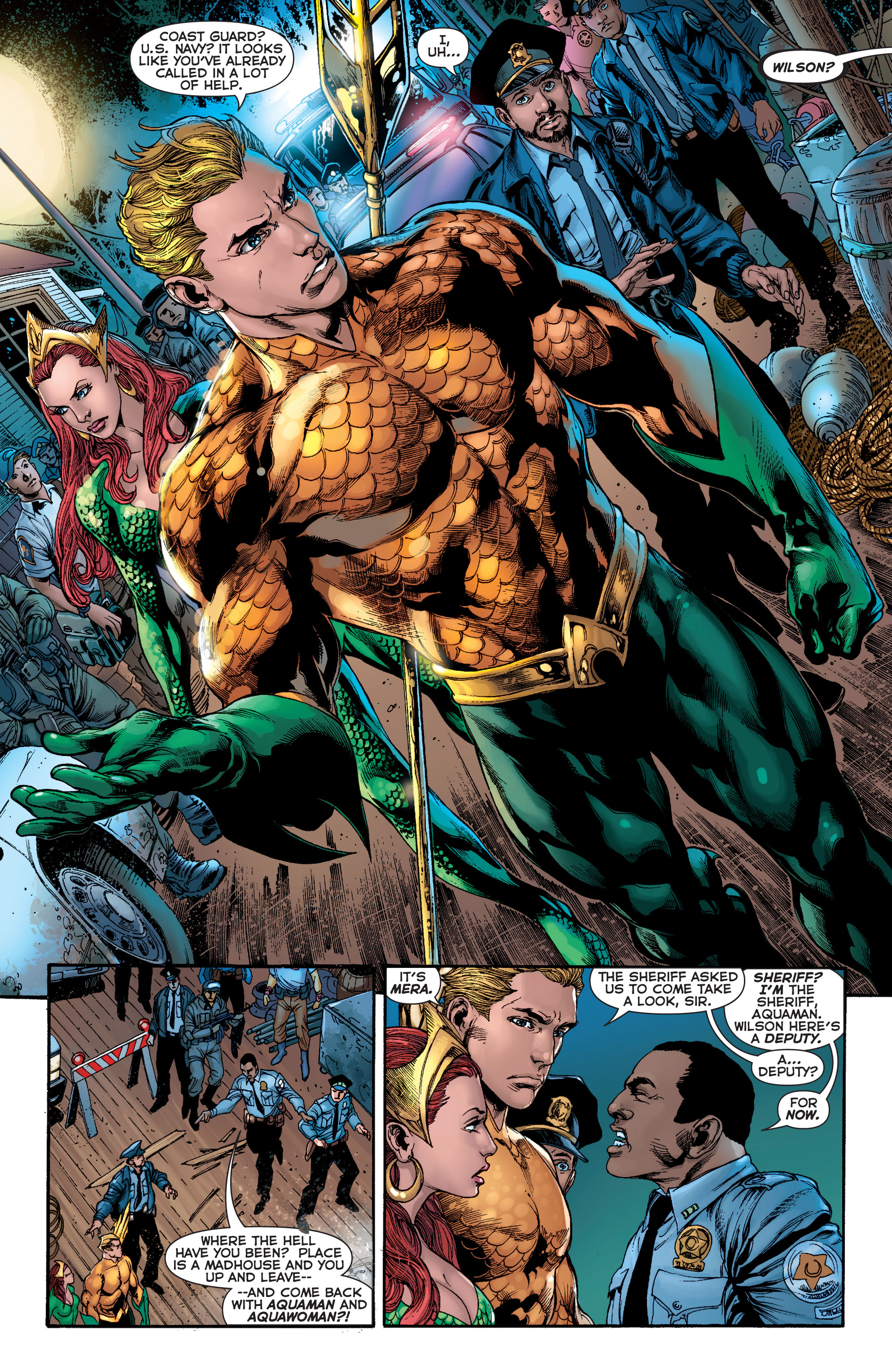 Read online Aquaman (2011) comic -  Issue #2 - 12