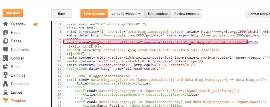 Cara Submit Blog Di Google Webmaster Tools