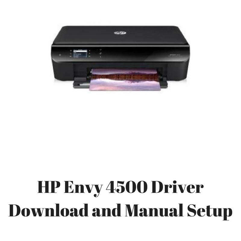 linux drivers for hp envy 4500
