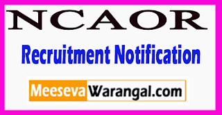 NCAOR National Centre for Antarctic and Ocean Research Recruitment Notification 2017 Last Date 24-07-2017