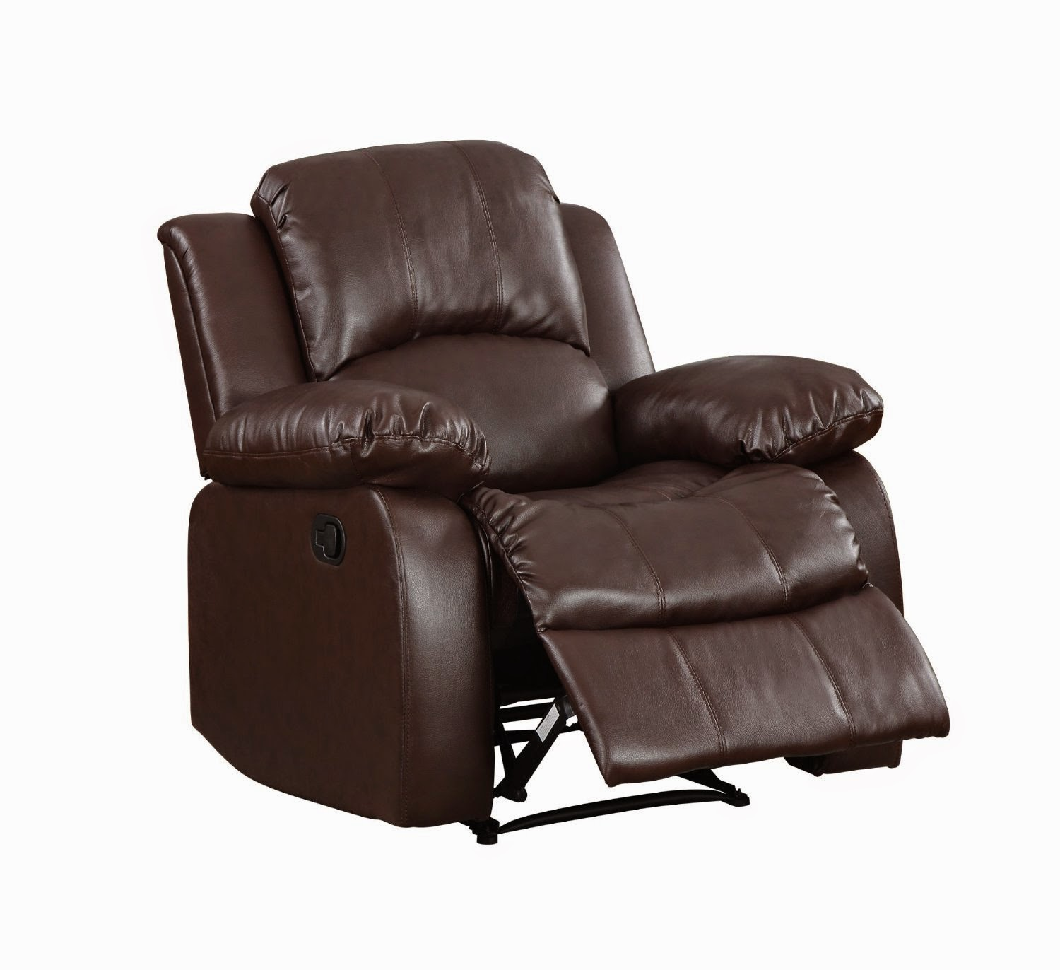 Cheap Reclining Sofas Sale: Leather Reclining Sofa Costco