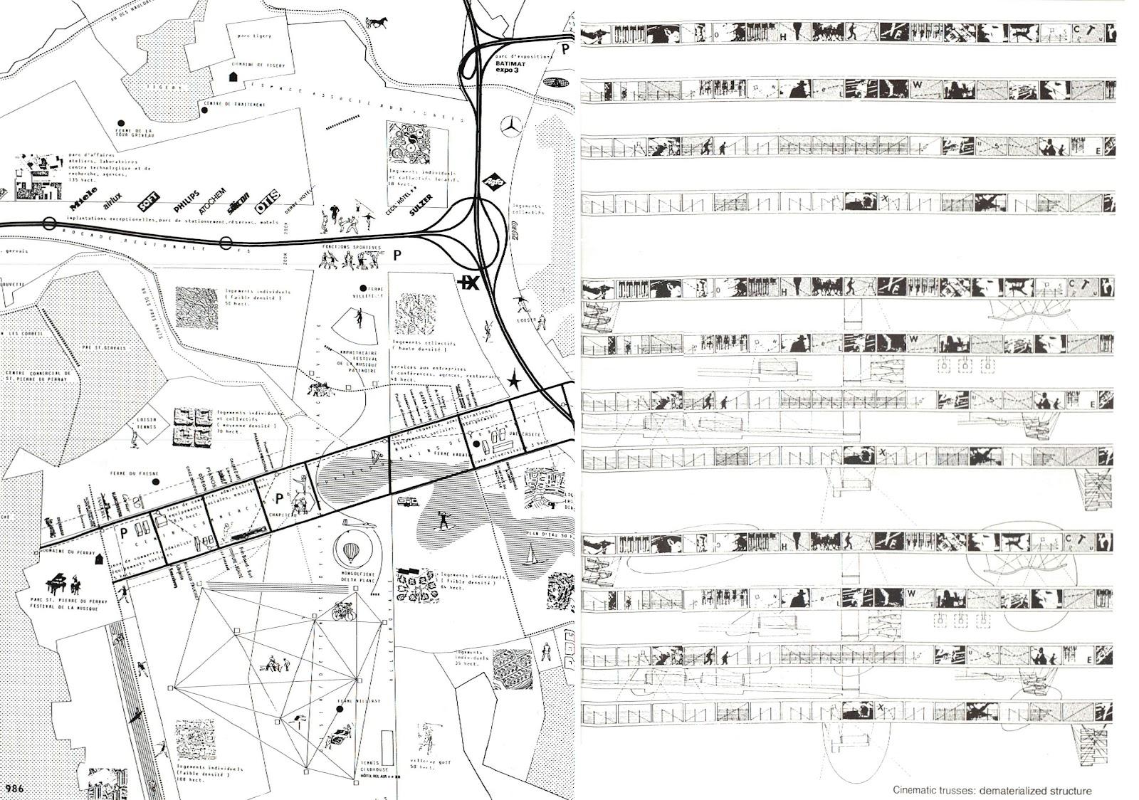 Segunda Piel Parque De La Villete Paris Bernard Tchumi