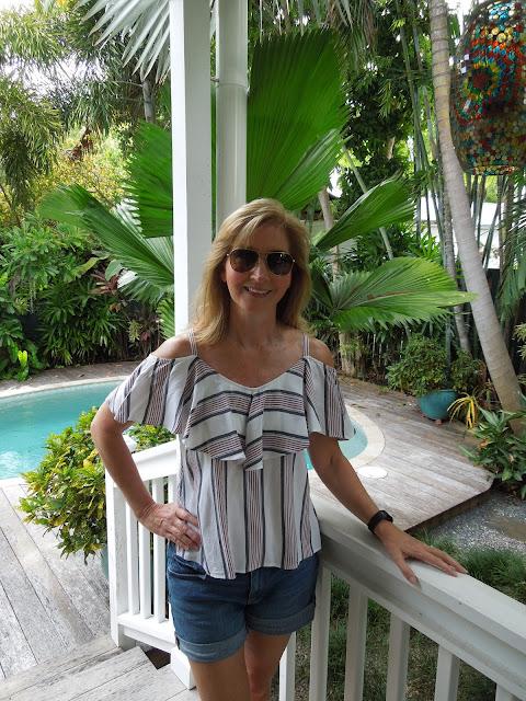 Susan on porch