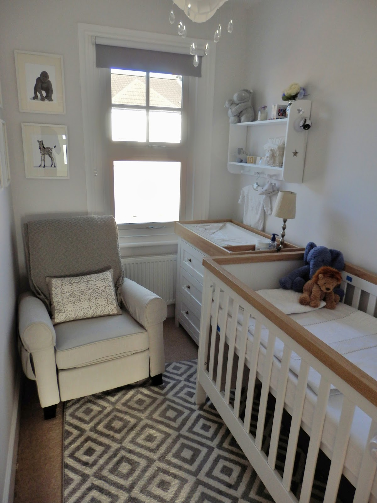 doyounoah how to decorate a small nursery