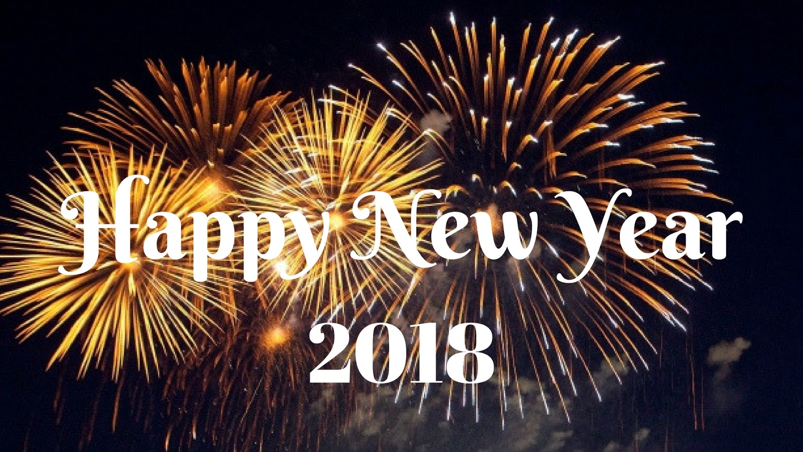 Superior Happy New Year 2018 HD Wallpaper 5 The Awesome Happy New Year 2018 HD  Wallpaper With Firework Background, Free To Download.