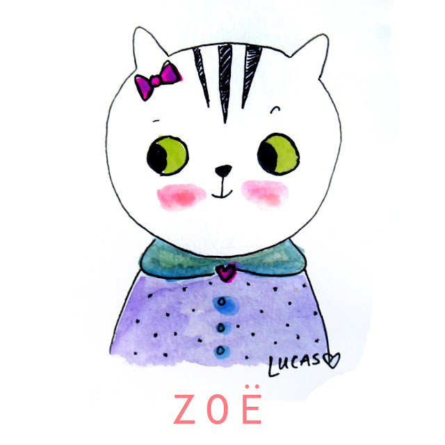 Zoe the Tabby Cat | Linzer Lane Blog