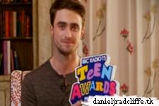 Daniel Radcliffe wins Best British Actor at Radio 1's Teen Awards