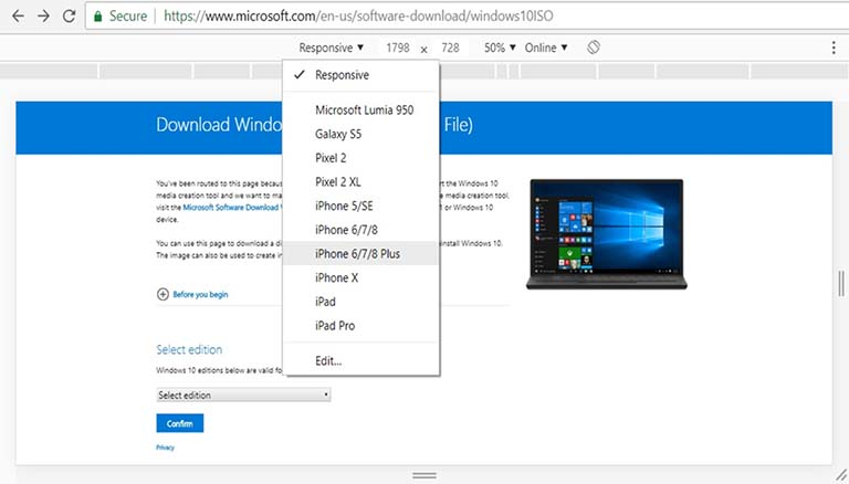 Cara Download File ISO Windows 10 Tanpa Media Creation Tool