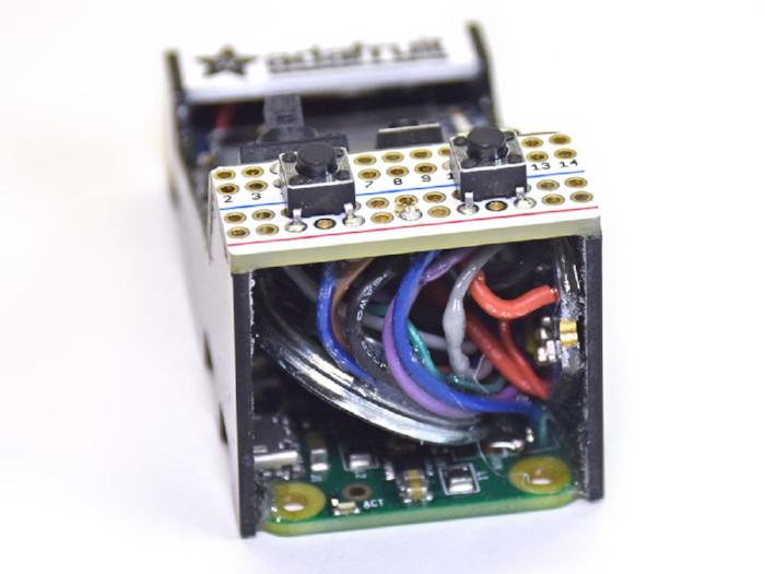 menor arcade com raspberry pi zero