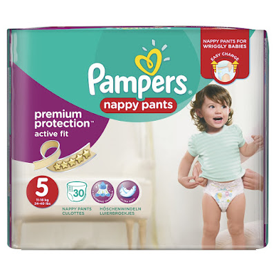 chic geek diary pampers active fit nappy pants. Black Bedroom Furniture Sets. Home Design Ideas