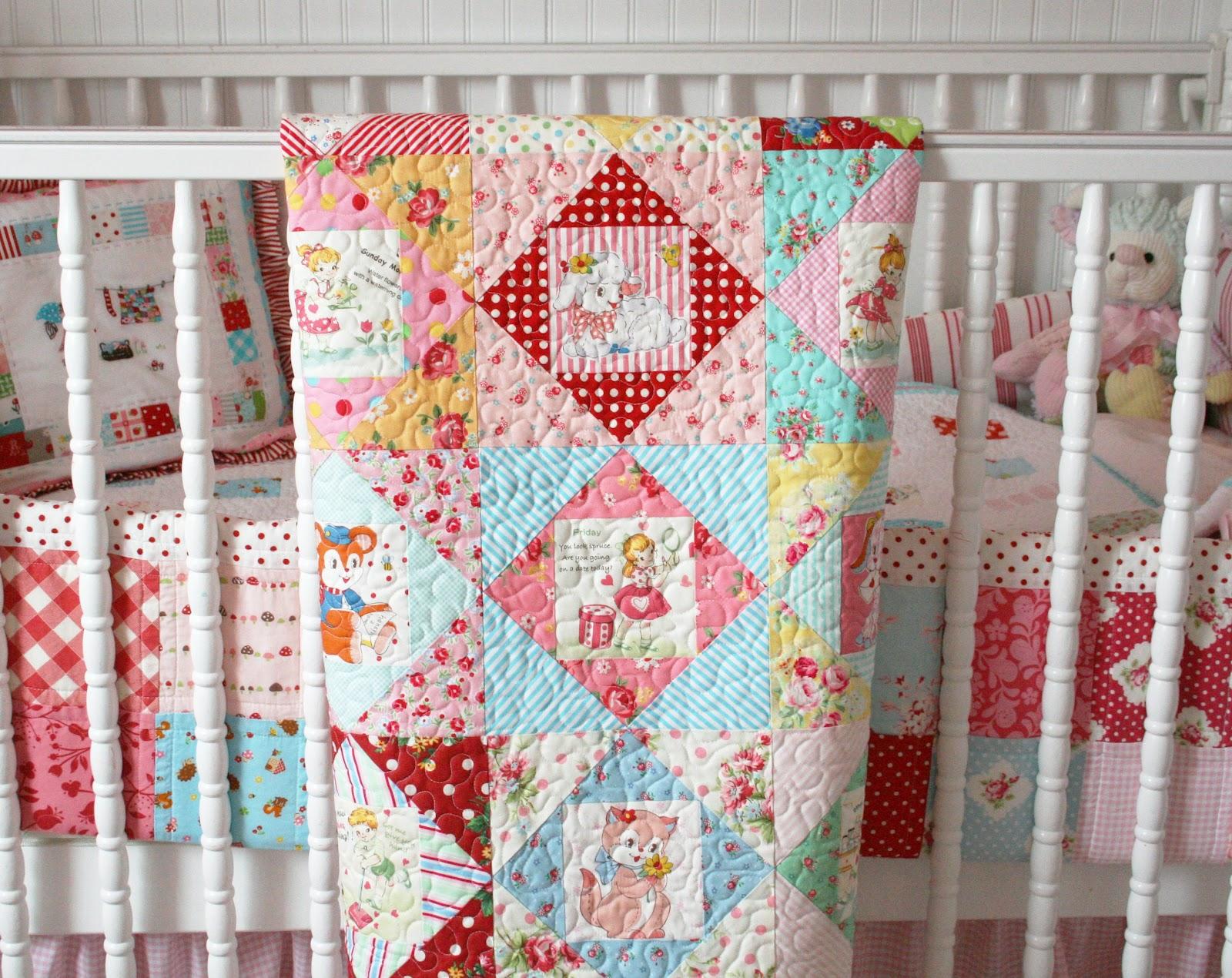 Vintage Nursery Quilt