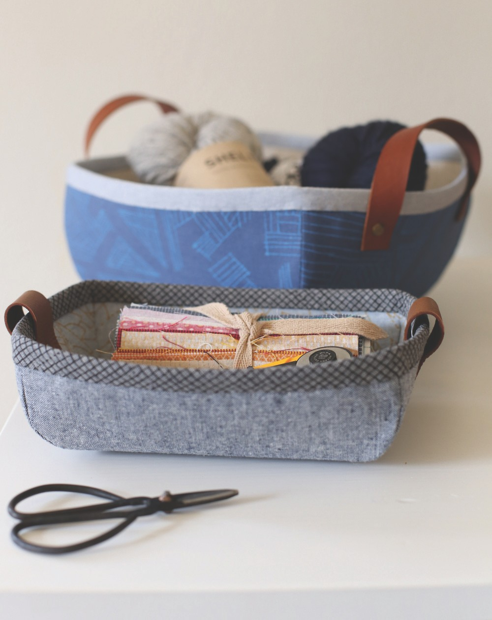 Bag Basket Tutorial and Pattern