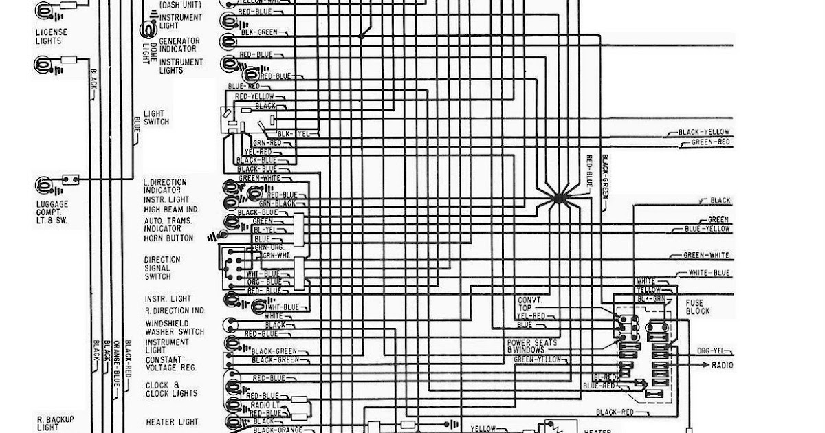1963 Ford Thunderbird Electrical Wiring Diagram | All about Wiring Diagrams