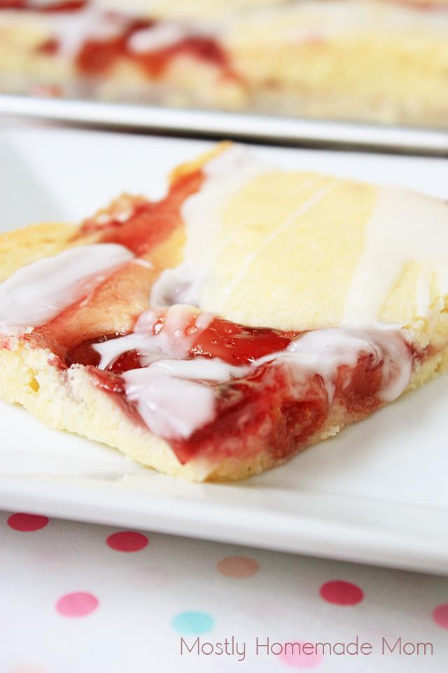 Sheet Pan Cherry Pie Bars recipe