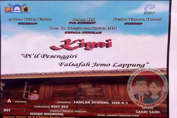 "Film Berjudul ""Kiyai"" Bernuansa Lampung Telah Diluncurkan"