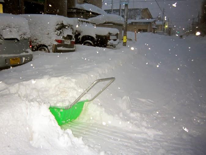 朝の積雪状況