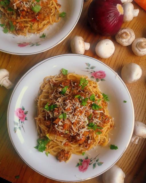 Wegetariańskie Bolognese / Vegetarian Bolognese
