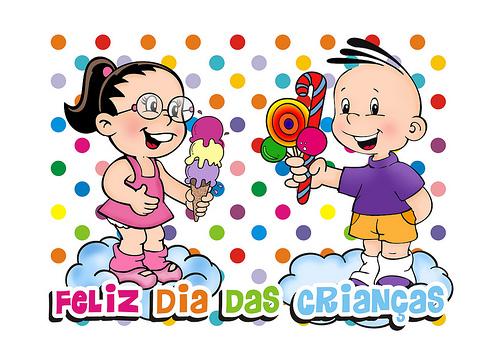 Mensagens Dia Das Criancas: Baú Da Web: Cartão Etiqueta Para Dia Das Crianças Para
