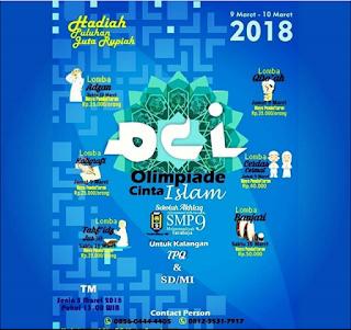 Olimpiade Cinta Islam 2018 SMP Muhammadiyah 9 Surabaya