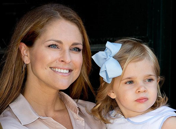 Princess Leonore who is the three years old daughter of Princess Madeleine and Chris O'Neill enrolled in a preschool education institution in Stockholm. Prince Nicholas