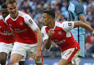Watch Highlights: Arsenal 2 Man City 1 - FA Cup Semi Final