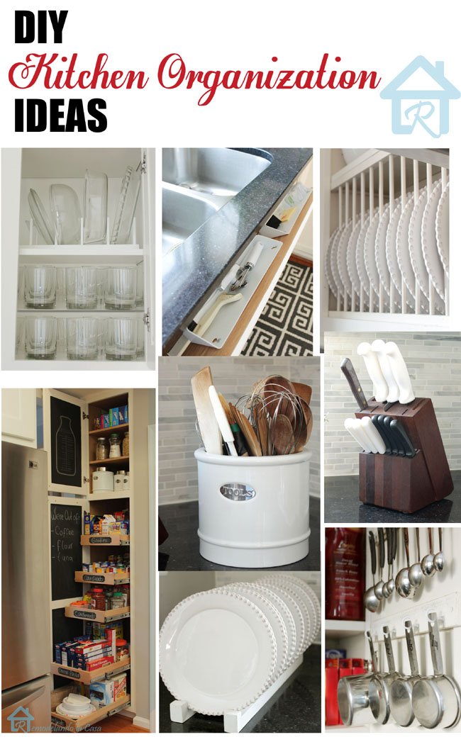 Easy ways to get a small kitchen organized