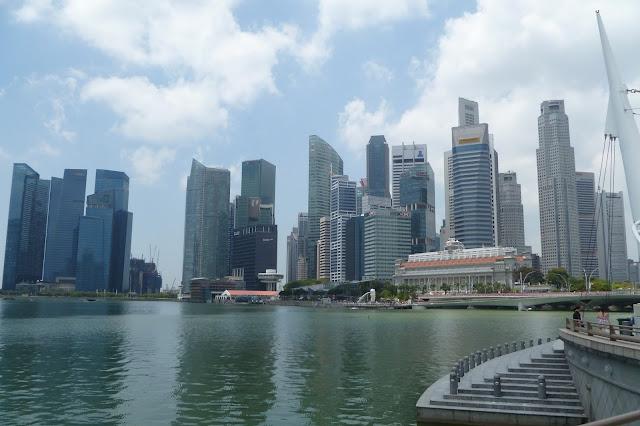 Dzielnica biznesowa w Singapurze