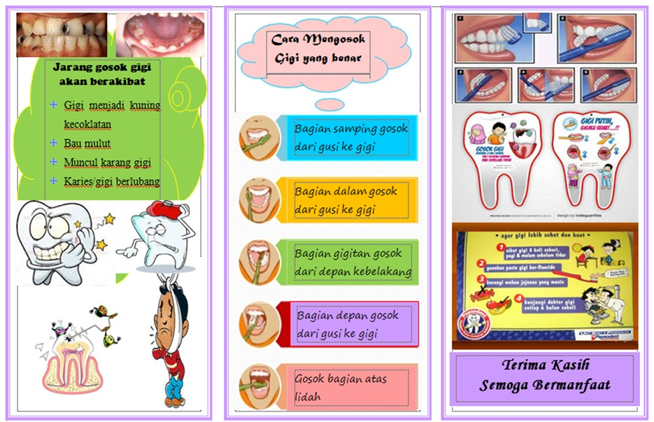 Hidup Sehat Leaflet Tentang Kesehatan Gigi Dan Mulut