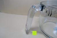Griff: Messbecher 1L Messkanne Rührschüssel Dosierhilfe Messkrug Glas Liter Pint