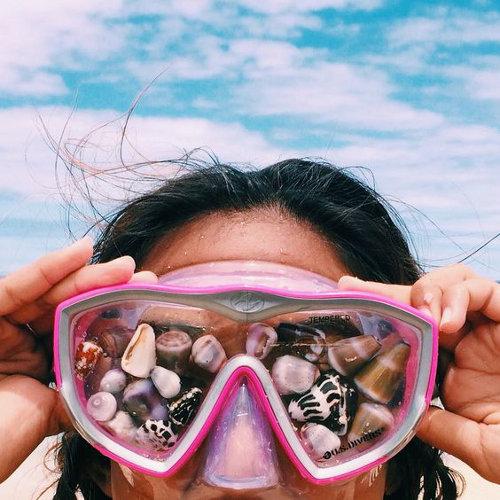 ideas de fotos para subir y arrasar en instagram este verano shells conchas