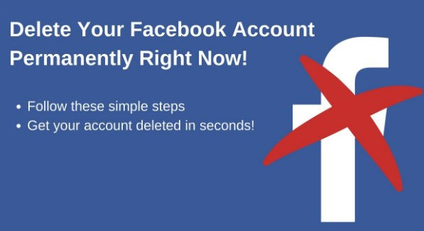 how to delete your facebook account completely