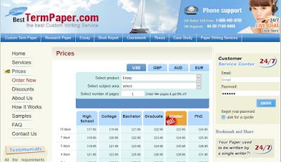 BestTermPaper.com prices