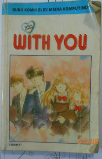Sinopsis Komik Serial Cantik With You, cover depan komik