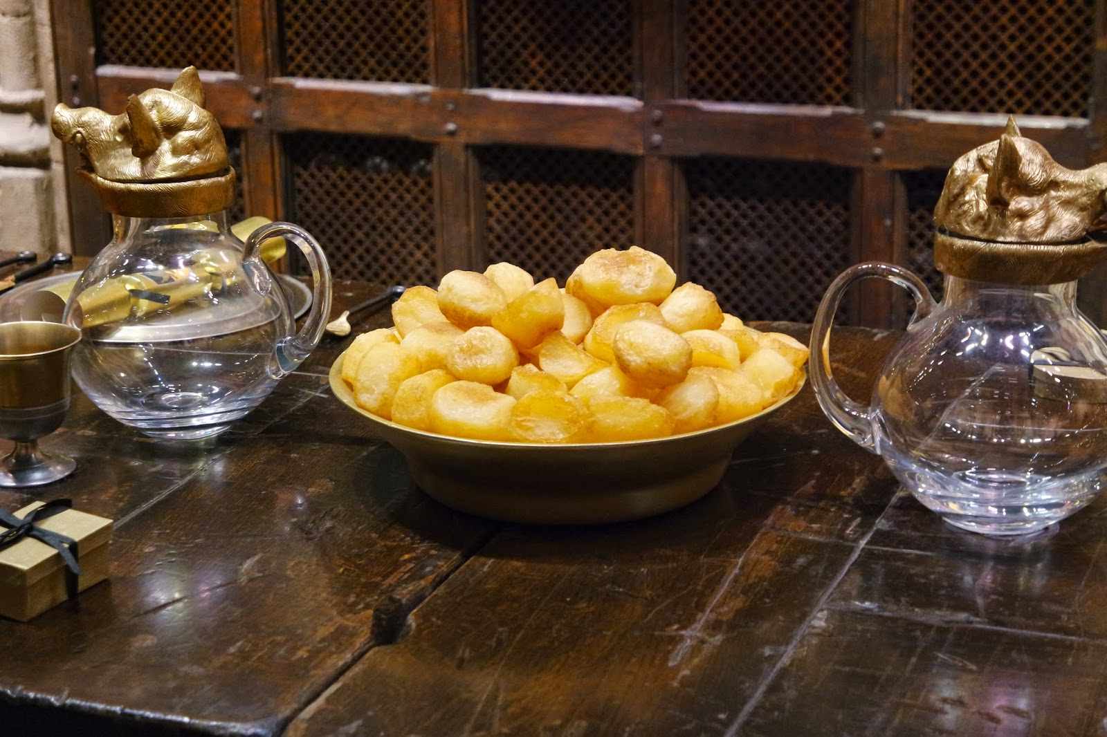 warner brothers studio tour harry potter christmas potatoes