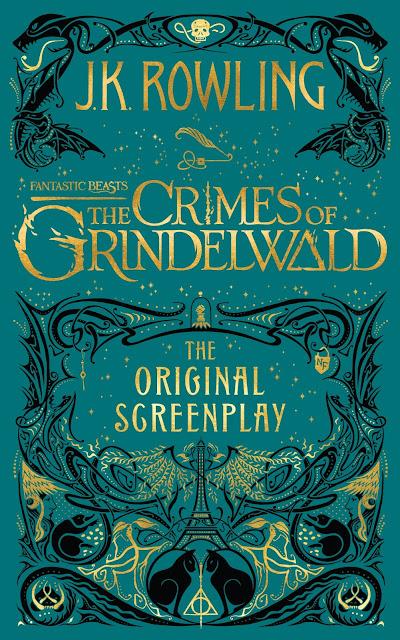 Capa do roteiro em inglês de 'Os Crimes de Grindelwald' é divulgada | Ordem da Fênix Brasileira
