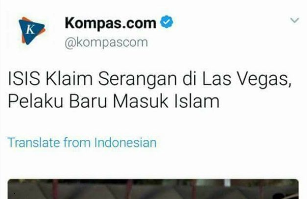 Muat Berita Ini, Kompas Kembali Lukai Hati Umat Islam