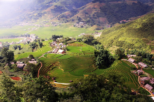 The most beautiful landscapes in north vietnam in October 4